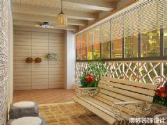 南宁绿洲花园小区复式楼中楼装修设计效果图
